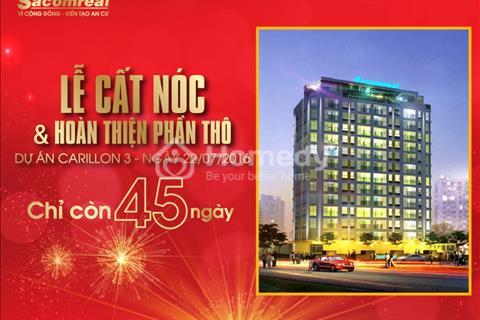 Cần tiền bán gấp căn hộ Carillon 3 - Gần sân bay - 2,22 tỷ/căn/64 m2