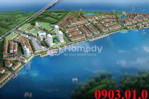 Đất nền nghỉ dưỡng Marine City Vũng Tàu, 3 mặt giáp sông, cam kết sinh lời đến 12%, trả góp LS 0%