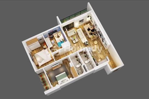 Cần bán căn hộ diện tích 93 m2 thuộc dự án Thăng Long Victory. Gía 13 triệu/ m2