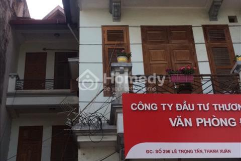 Cho thuê nhà diện tích 70 m2 x 5 tầng ở Trần Thái Tông. Gía 42 triệu/ tháng