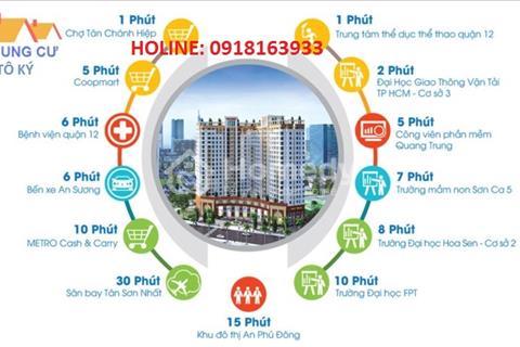 Bán căn hộ Tô Ký, Trung Mỹ Tây, quận 12, 850 triệu, 2PN