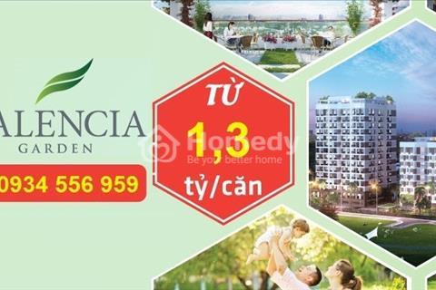 Chung cư Valencia Garden Long Biên giá từ 1,3 tỷ nội thất cao cấp