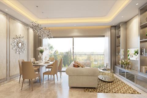 Căn hộ chung cư Masteri tháp T4 tầng cao 92m2 3PN trang bị nội thất cơ bản