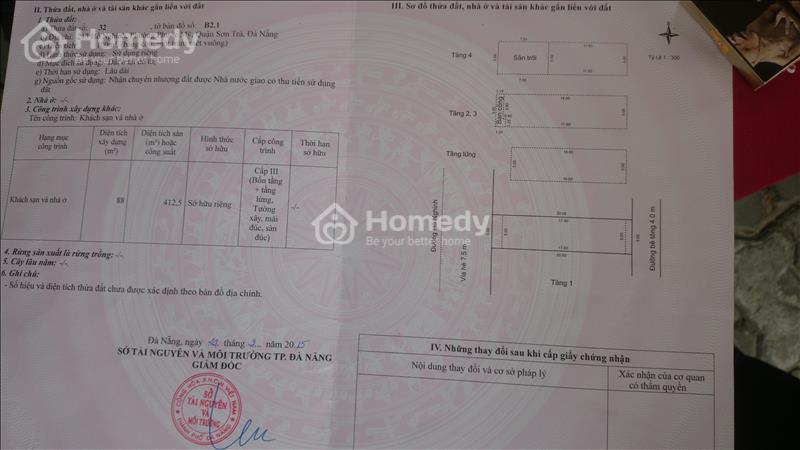 Do nhu cầu cần tiền gấp nên bán khách sạn Đường Hồ Nghinh - 3