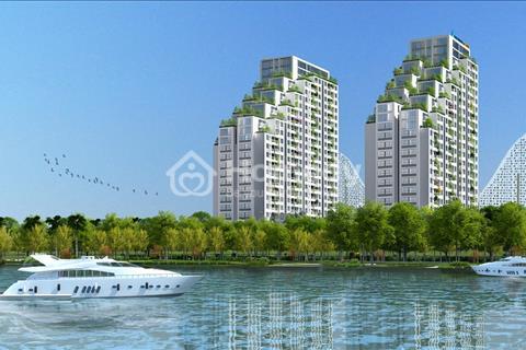 Sỡ hữu căn hộ sân vườn cao cấp 3 mặt view sông ngay trung tâm Q7 giá chỉ từ 1,6Tỷ/căn 2PN