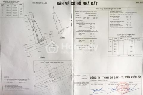 Bán gấp nhà phố 1 lầu đẹp hẻm 1113 Huỳnh Tấn Phát, P. Phú Thuận, Quận 7