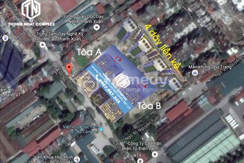 Dự án Thống Nhất Complex 82 Nguyễn Tuân - Vị trí vàng kết hợp với môi trường xanh