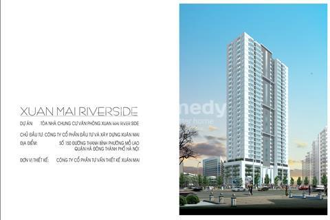 Bán chung cư Xuân Mai Riverside 150 Thanh Bình căn 45 m2. Giá 1,169 tỷ
