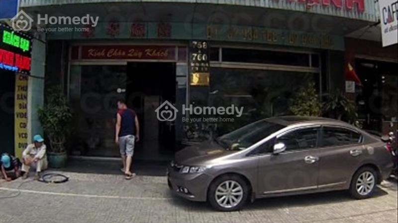 Bán khách sạn 2 căn liền kề mặt tiền đường Sư Vạn Hạnh - 1