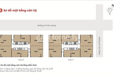 Chính chủ cần bán cắt lỗ căn hộ 107.3m2  hacc Times Tower lê văn lương, giá rẻ.