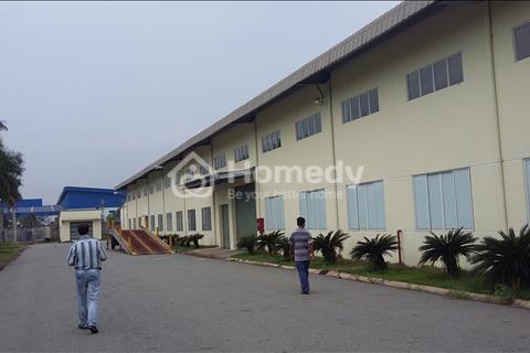 Bán đất công nghiệp 14.200 m2 có nhà xưởng 7.150 m2 khu công nghiệp Quang Minh, Hà Nội