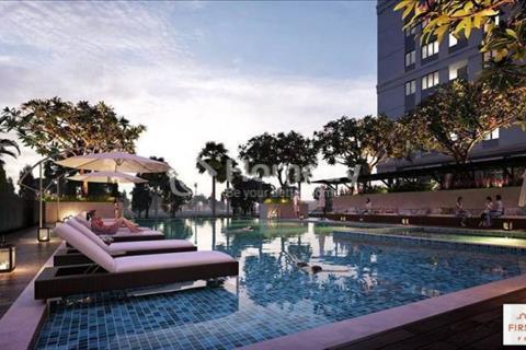 Bán căn hộ City Tower  tại Bình Dương, hướng Đông Nam view hồ bơi, giá chỉ 950 triệu