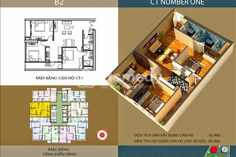 Cho thuê căn hộ chung cư B2 Number One - Vân Canh đầy đủ tiện nghi, giá chỉ 4,9 triệu/ tháng