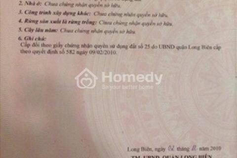 Bán 44 m2 đất Tình Quang - Giang Biên - Long Biên
