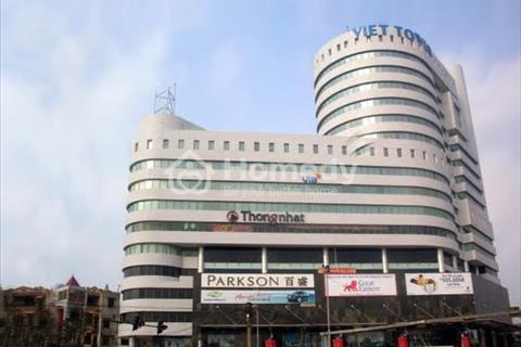 Cho thuê sàn văn phòng tòa nhà Việt Tower – Thái Hà - quận Đống Đa diện tích 70 m2, 100 m2, 340 m2
