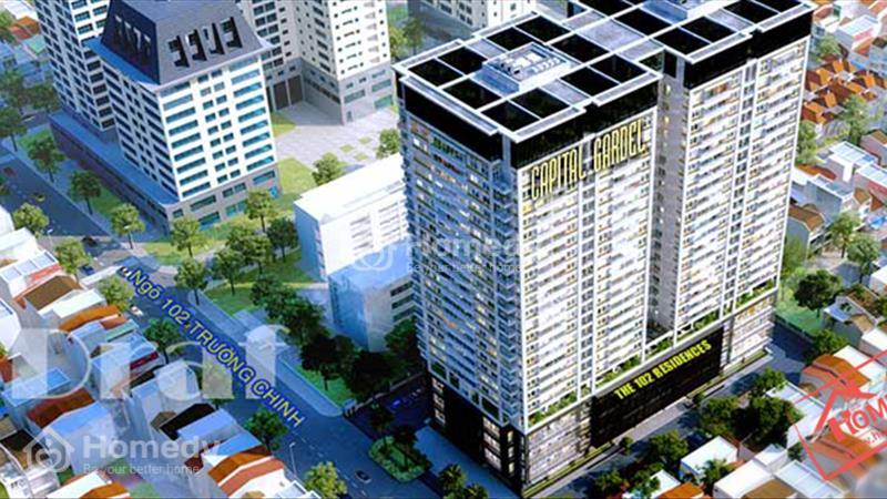 Capital Garden 102 Trường Chinh cho thuê mặt bằng kinh doanh tầng 1 - 1