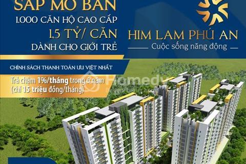 Mở bán căn hộ ngay cầu Sài Gòn - Tuyến Metro số 08 - Thanh toán 45% đến lúc nhận nhà LS 0%
