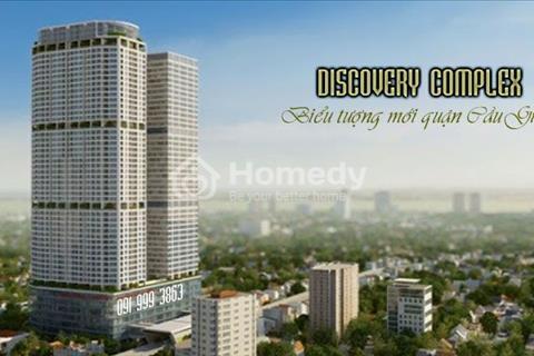 Discovery Complex Cầu giấy bán căn 2 phòng ngủ ban công Đông Nam view hồ