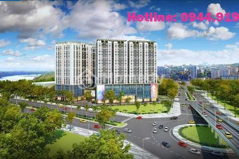 Bán căn hộ 94m2 View Sông Hồng tại đầu cầu Vĩnh Tuy giá gốc 27 triệu/ m2 - Full nội thất Châu Âu
