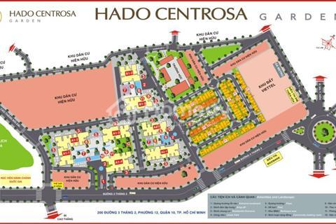 Sở hữu căn hộ Hà Đô Centrosa Garden với giá hấp dẫn chỉ từ 37tr/m2