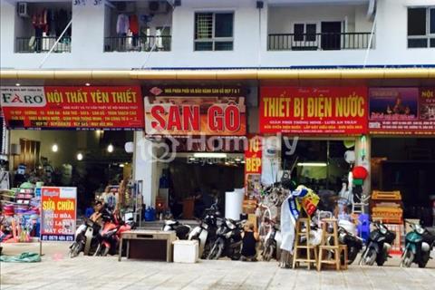 Kiot Linh Đàm thuộc chung cư giá rẻ HH Linh Đàm