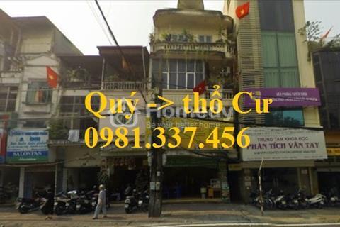 Cho thuê nhà mặt phố Hàng Giấy 60 m2 x 2 tầng, mặt tiền 4,5 m