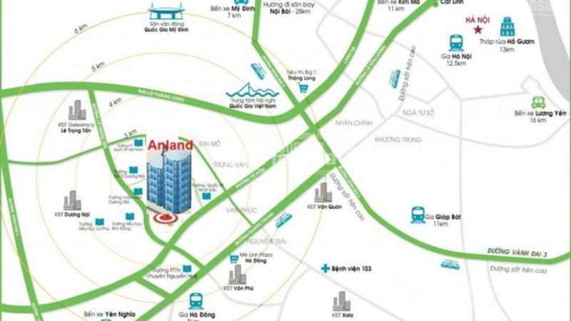 Bán căn hộ cao cấp 1508 tòa B chung cư Anland Complex Nam Cường, Hà Đông - 3