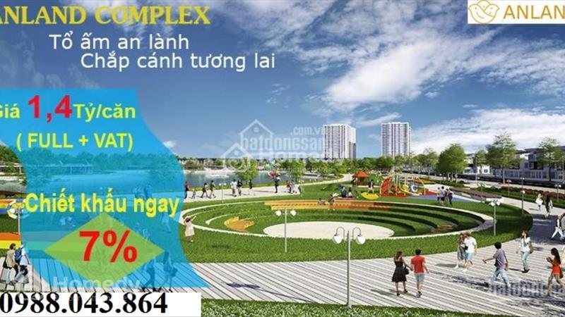 Bán căn hộ cao cấp 1508 tòa B chung cư Anland Complex Nam Cường, Hà Đông - 4