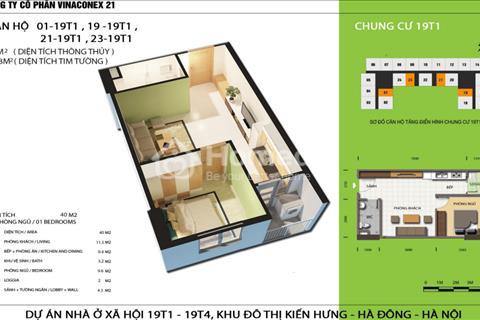 Tiếp nhận hồ sơ đăng ký mua nhà ở xã hội Kiến Hưng, Hà Đông