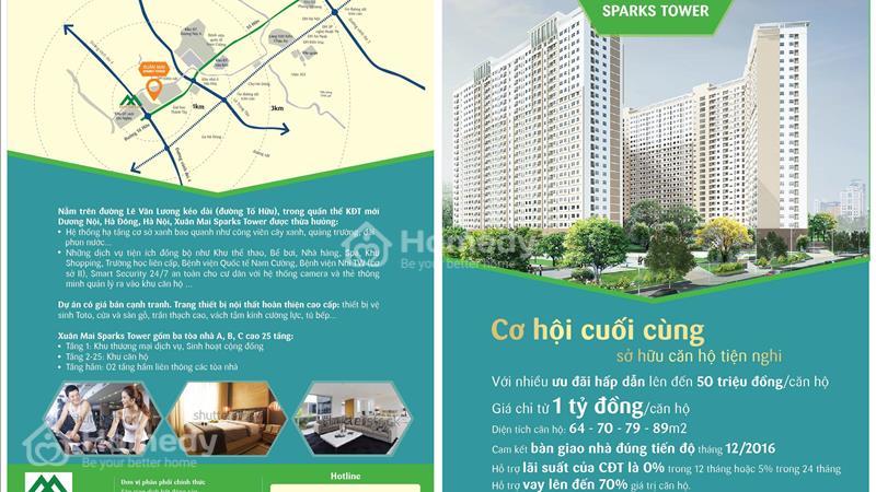 Giải pháp cho ai đang tốn tiền thuê nhà! Chung cư Lê Trọng Tấn hơn 900 triệu/căn, trả góp 70% GTCH  - 8