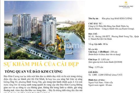 Mở bán căn hộ cao cấp tòa tháp Bahamas dự án Đảo Kim Cương
