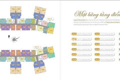 Bán suất ngoại giao căn hộ 2 phòng ngủ - 423 Minh khai - Imperia Sky Garden