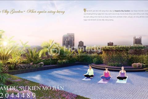 Bán căn hộ 01-02 căn góc - tầng đẹp, hướng đẹp tại Imperia Sky Garden - 423 Minh Khai