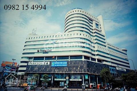 Trực tiếp CĐT cho thuê văn phòng tòa Việt Tower (Parkson) Thái Hà - Đống Đa diện tích 500 m2