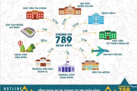 Độc quyền chung cư 789 Xuân Đỉnh - Những căn hộ đẹp nhất của tòa nhà.