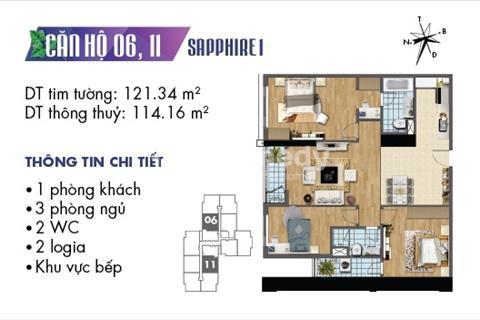 Mở bán Sapphire căn hộ 6 và 11 tại Goldmark City với nhiều ưu đãi hấp dẫn,chiết khấu lên đến 14,2%