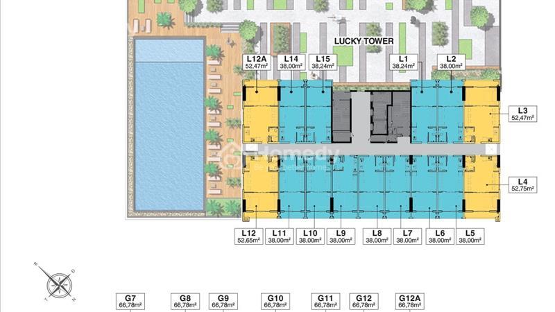 Căn hộ Bình Thạnh - officetel Richmond City giá chỉ 900tr/căn giải pháp đầu tư hiệu quả - 2