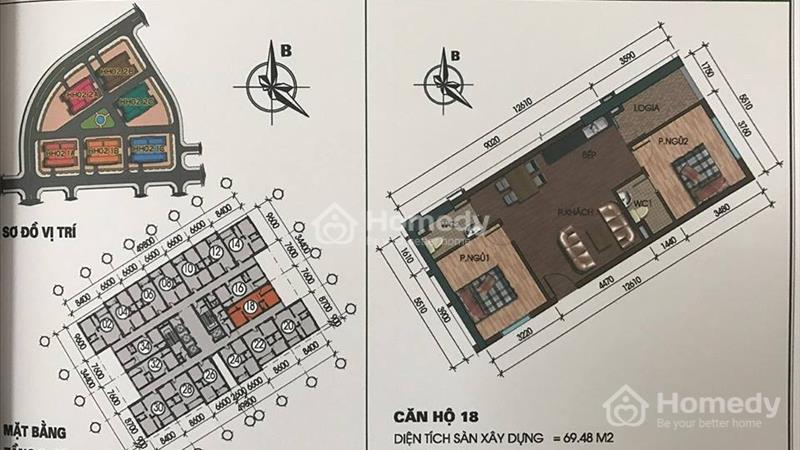 Chuyên bán căn hộ Thanh Hà,Mường Thanh.Giá chỉ 9,5 triệu/m2.  - 12