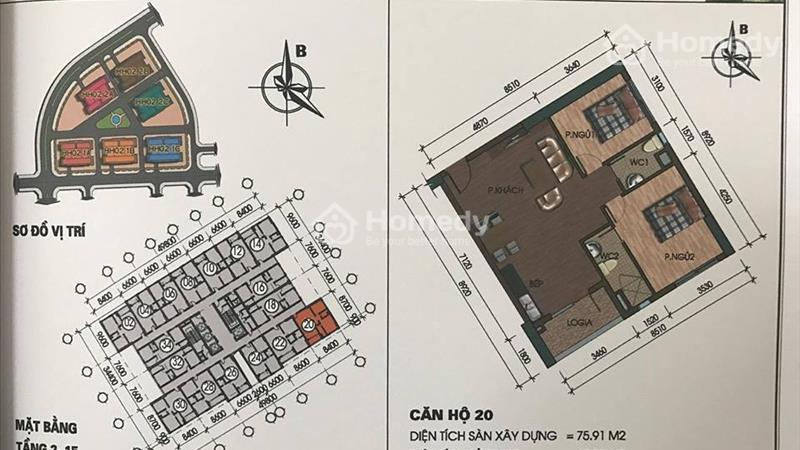 Chuyên bán căn hộ Thanh Hà,Mường Thanh.Giá chỉ 9,5 triệu/m2.  - 14