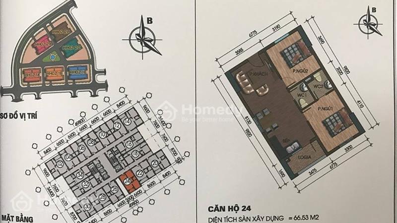 Chuyên bán căn hộ Thanh Hà,Mường Thanh.Giá chỉ 9,5 triệu/m2.  - 9