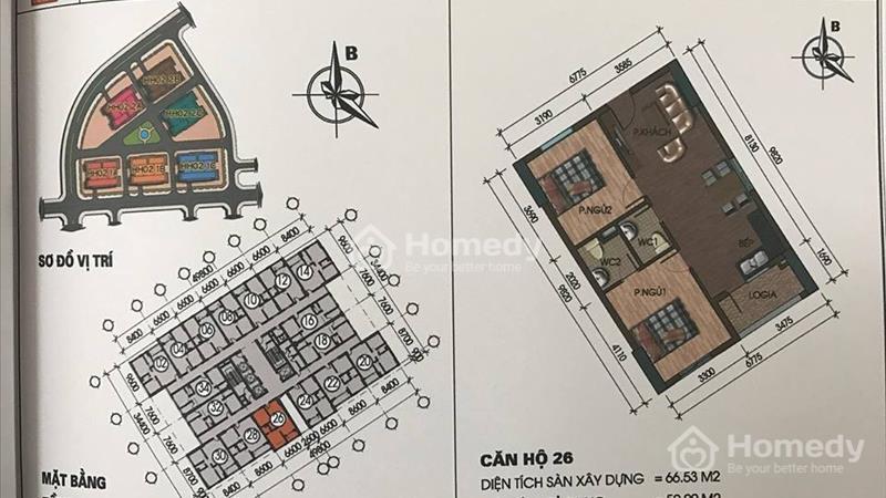 Chuyên bán căn hộ Thanh Hà,Mường Thanh.Giá chỉ 9,5 triệu/m2.  - 11