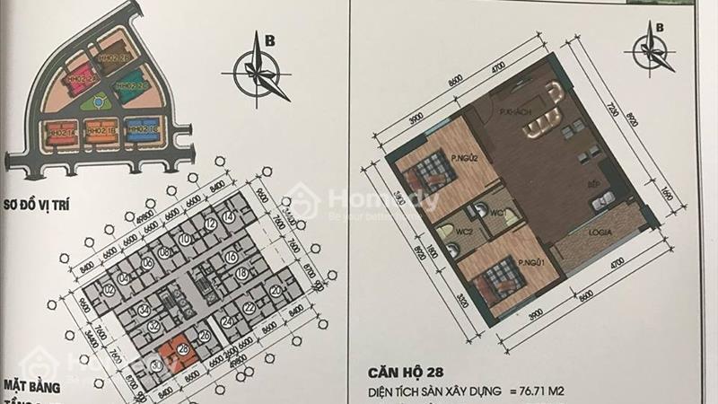 Chuyên bán căn hộ Thanh Hà,Mường Thanh.Giá chỉ 9,5 triệu/m2.  - 7