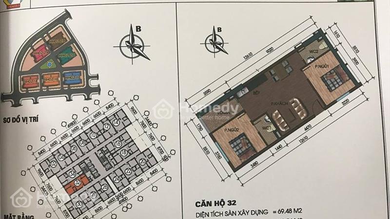 Chuyên bán căn hộ Thanh Hà,Mường Thanh.Giá chỉ 9,5 triệu/m2.  - 8