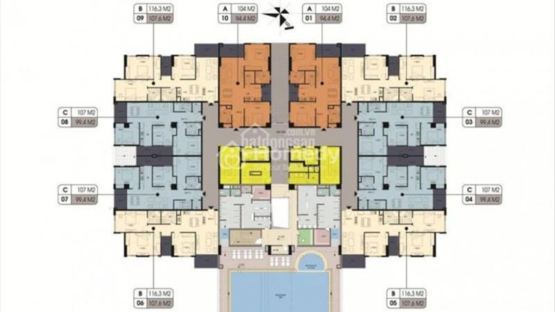 Đặt chỗ tầng đẹp:5,9,11,14_Northern Diamond - ngay Aeon Mall với CĐT Incomex, chỉ từ 25 triệu/ m2 - 5