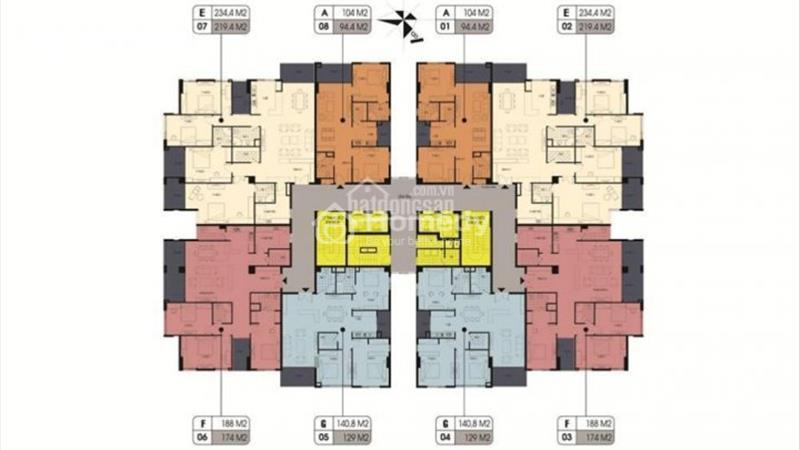 Đặt chỗ tầng đẹp:5,9,11,14_Northern Diamond - ngay Aeon Mall với CĐT Incomex, chỉ từ 25 triệu/ m2 - 3