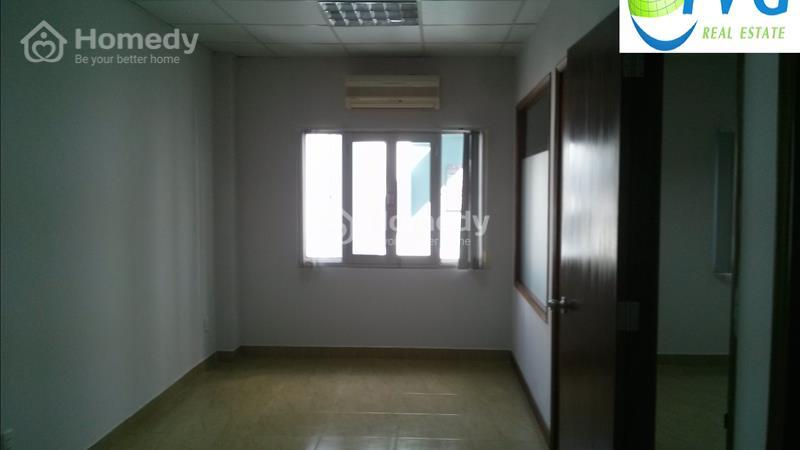Cho thuê VP mặt tiền đường Nam Quốc Cang, Q1, DT 22m2 trệt - 50m2 lầu 3, Giá 388 nghìn/m2  - 4