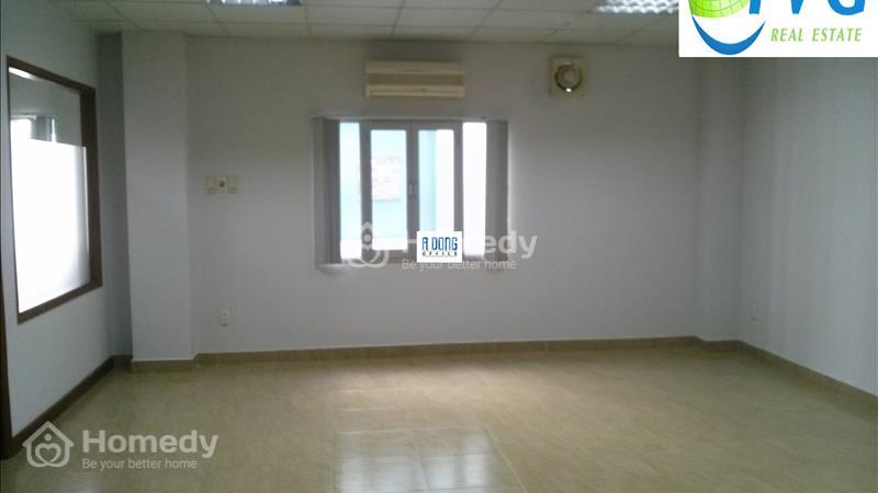 Cho thuê VP mặt tiền đường Nam Quốc Cang, Q1, DT 22m2 trệt - 50m2 lầu 3, Giá 388 nghìn/m2  - 5