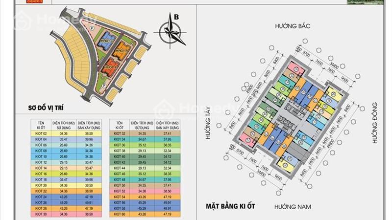 Kiot Kinh doanh tại chung cư Thanh Hà-Mường Thanh,giá chênh thấp nhất thị trường - 1
