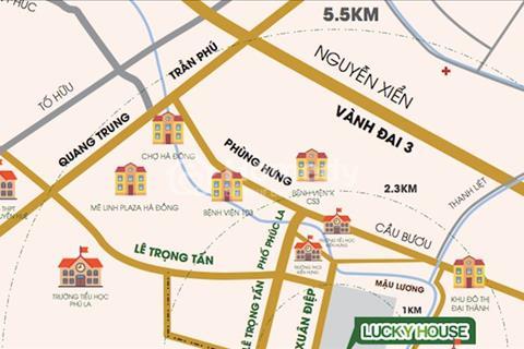 Khu nhà ở Hưng Thịnh – Hà Đông, diện tích 35m2 - 56m2 – 70m2. Giá từ 12,4 triệu/m2