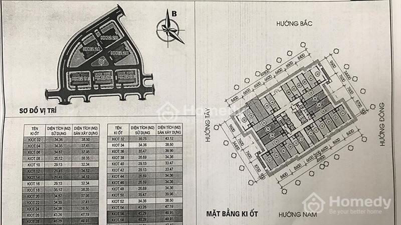 Kiot Kinh doanh tại chung cư Thanh Hà-Mường Thanh,giá chênh thấp nhất thị trường - 9